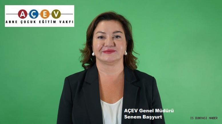 AÇEV'in Genel Müdürü Senem Başyurt oldu.