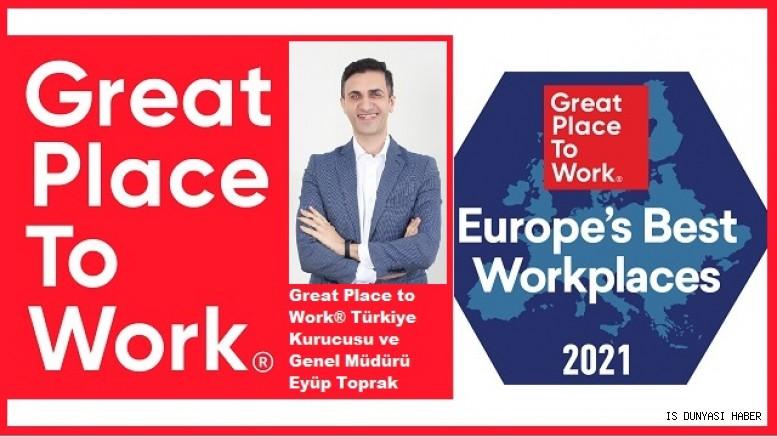 Avrupa'nın En İyi İşverenleri Listesi'nde  Türkiye'den 10 şirket yer aldı
