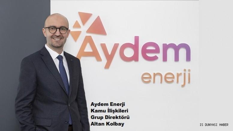 Aydem Enerji'nin Kamu İlişkileri Grup Direktörü Altan Kolbay Oldu