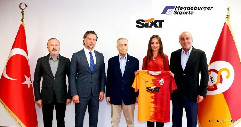Bor Holding iştirakleri SIXT ve Magdeburger Sigorta, Galatasaray'ın forma sponsoru oldu