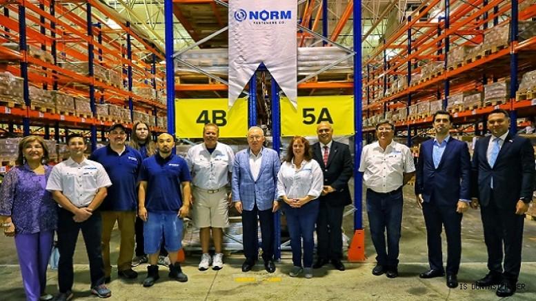 Buyukelci Mertcan Norm Holding'in ABD'deki Sirketinde Incelemelerde Bulundu