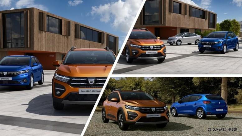 Dacia'nın ikonik modelleri yenileniyor:Yeni Sandero, Yeni Sandero Stepway ve Yeni Logan