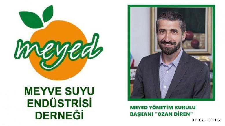 DİMES Genel Müdürü Ozan Diren MEYED Yönetim Kurulu Başkanı olarak seçildi.