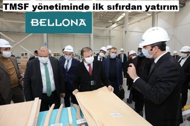 Erciyes Anadolu Holding'in 128 milyon liralık  Bellona-6 Yatak ve Sandalye Fabrikası üretime başladı