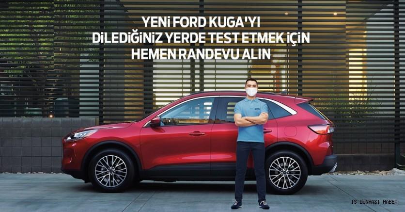 Ford, müşterilerin kapısına kadar gelerek Yeni Kuga ve Puma'yı test etme imkanı sunacak