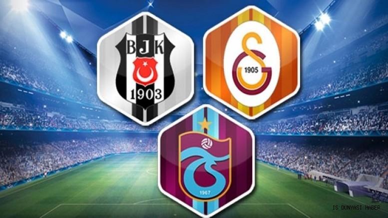 Galatasaray,Beşiktaş ve Trabzonspor finansal yeniden yapılandırma sözleşmesi imzaladı