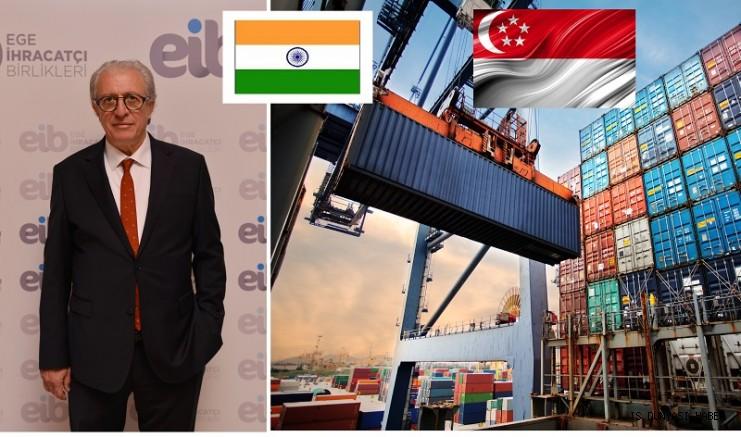 Hindistan ve Singapur Türk gıda ürünlerini bekliyor.