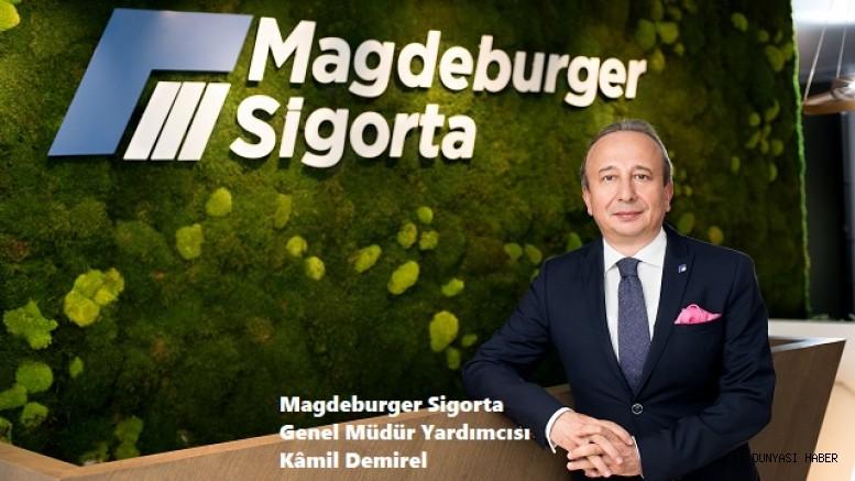 Kâmil Demirel, Magdeburger Sigorta Genel Müdür Yardımcısı olarak atandı