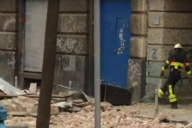 Karantina altındaki Zagreb depremle sarsıldı