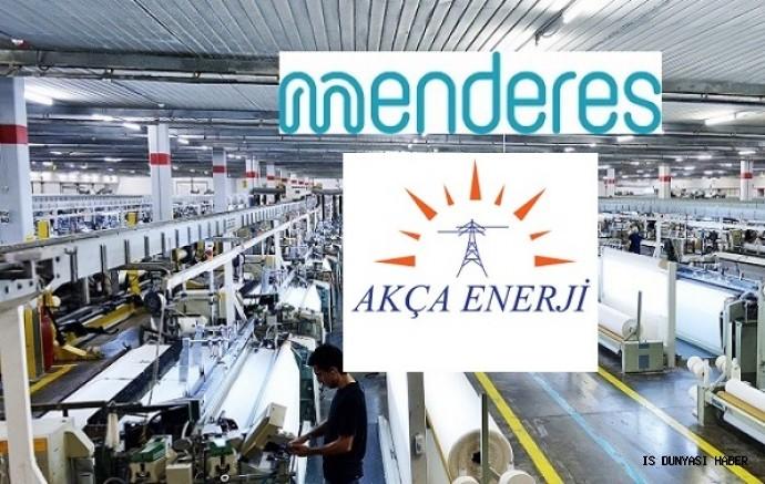 Menderes Tekstil'in Akça Enerji ve Tan Elektrik ile birleşim çalışmaları