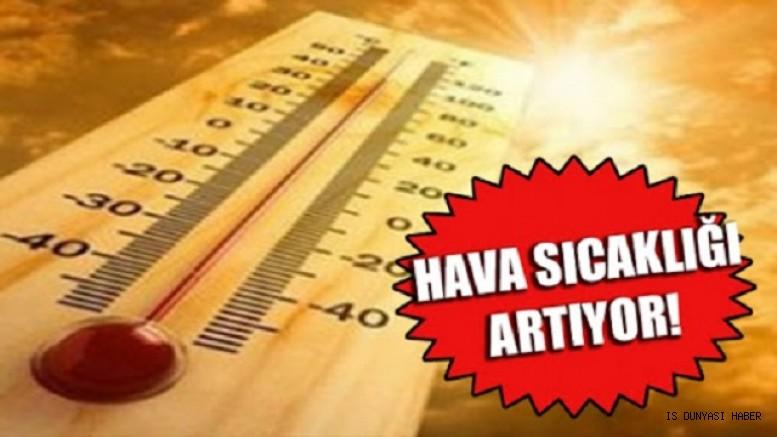 Meteoroloji'den uyarı: Hava sıcaklıkları 8 derece daha artacak