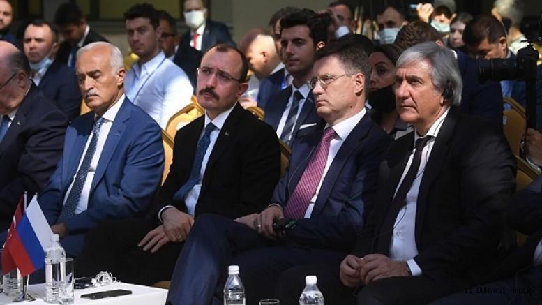 Moskova'da Rus-Türk İş Forumu