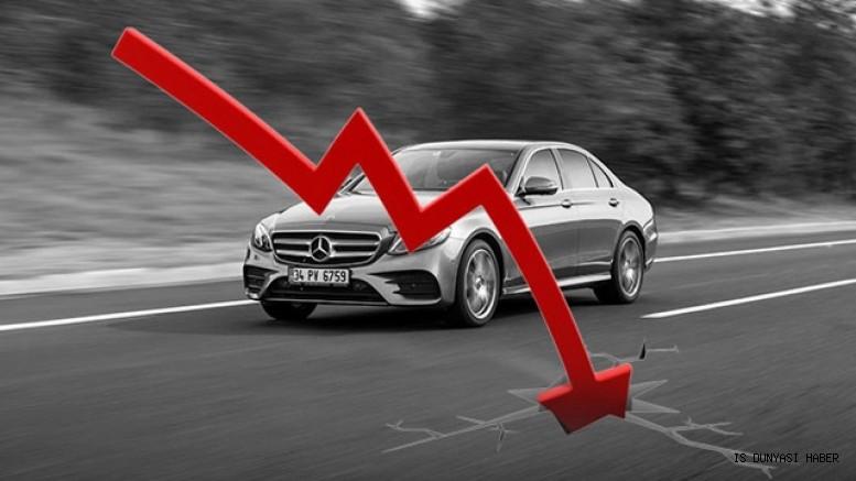 Otomotiv satışları temmuz ayında yüzde 45 düştü