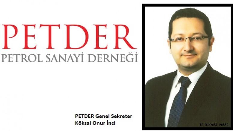PETDER'İN YENİ GENEL SEKRETERİ KÖKSAL ONUR İNCİ OLDU