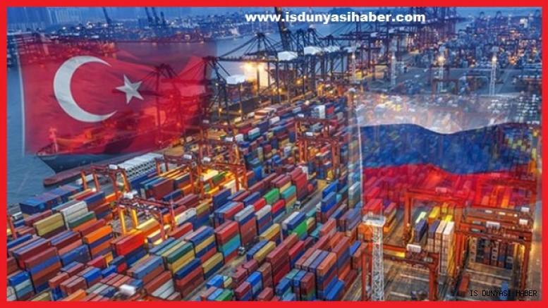 Rusya-Türkiye ticaret hacmi Ocak-Ağustos'ta yüzde 57.7 artarak 20.73 milyar dolara ulaştı'