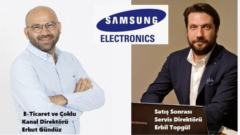 Samsung Electronics Türkiye'de iki atama gerçekleşti!