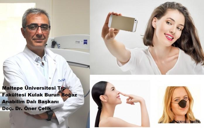 Selfie'de burnunu gören cerraha koşuyor...