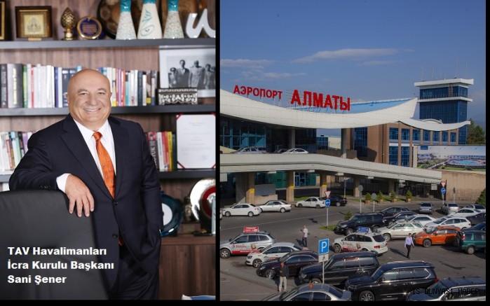 TAV, Almatı Havalimanı'nı için imzayı attı
