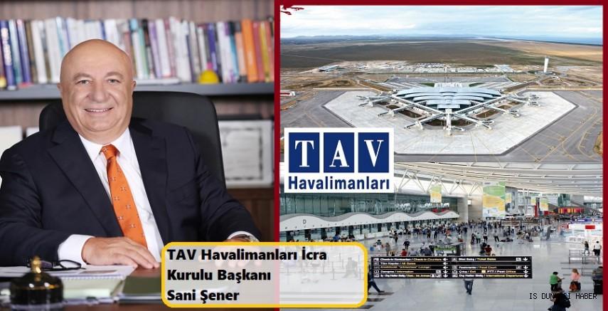 TAV Havalimanları, 2019'da İstanbul Atatürk hariç yüzde 8 artışla 764 milyon avro ciro elde etti.