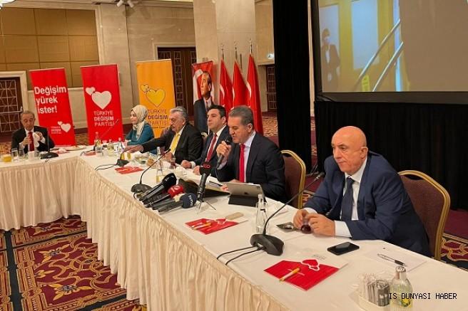 TDP Genel Başkanı Mustafa Sarıgül Ankara'da Basın Açıklaması yaptı