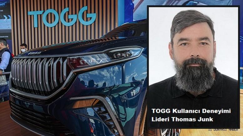 TOGG Kullanıcı Deneyimi Lideri Thomas Junk
