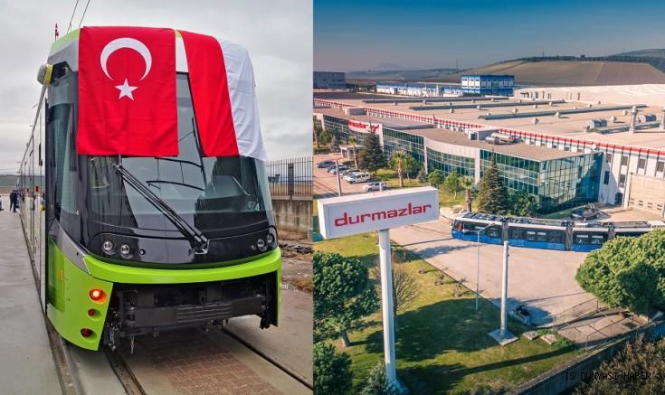 Türkiye'den dünyaya ilk tramvay ihracatı