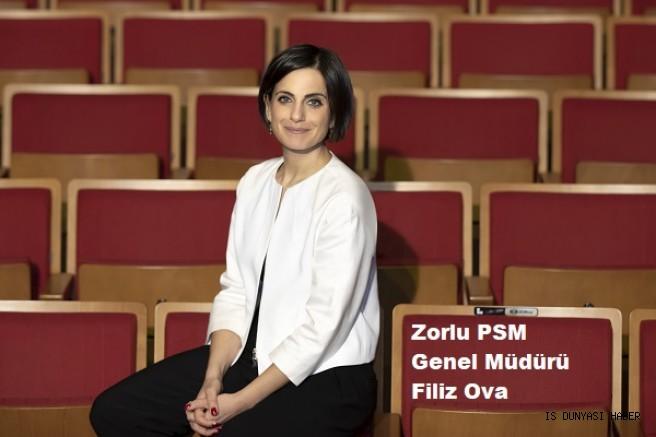 Zorlu PSM'nin Yeni Genel Müdürü Filiz Ova Oldu.